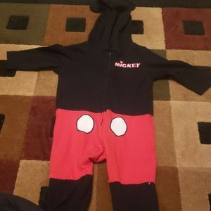Mickey one piece with hood